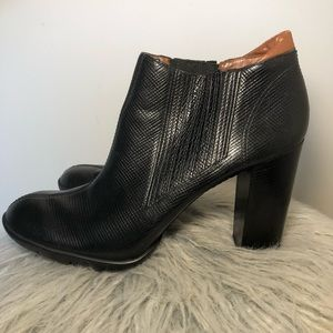 Cole Haan G Series Black Booties